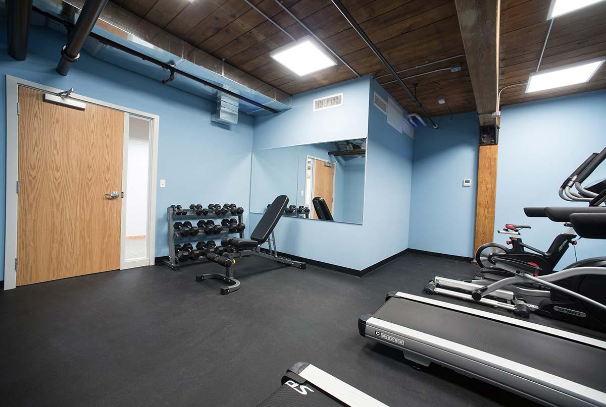 Basement Fitness Center