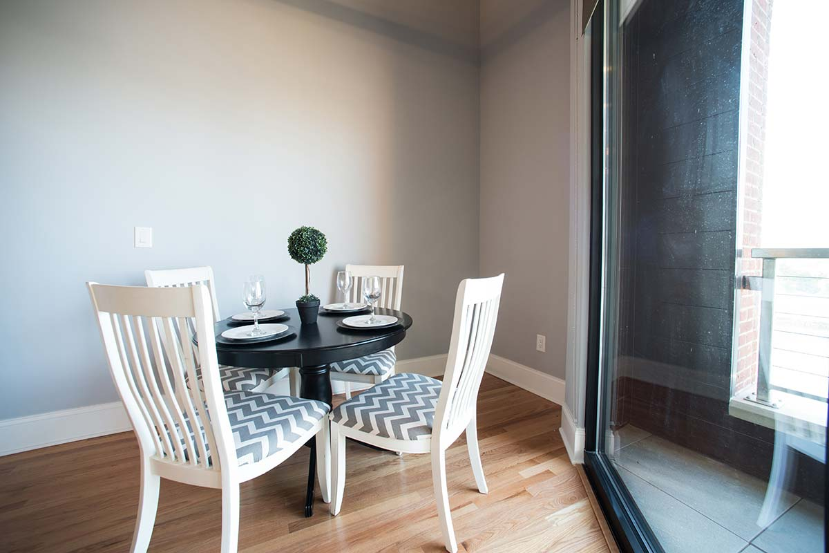 Apartment 501 Dining Room