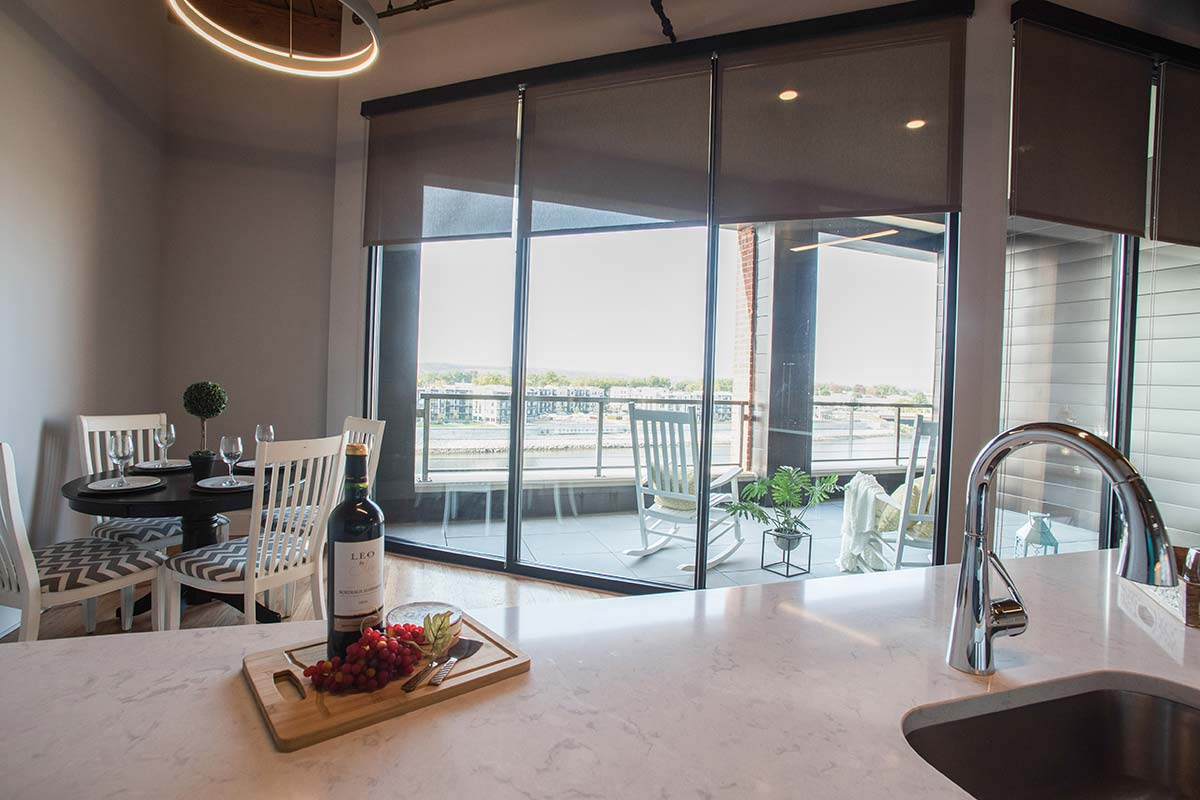 Apartment 501 Kitchen view
