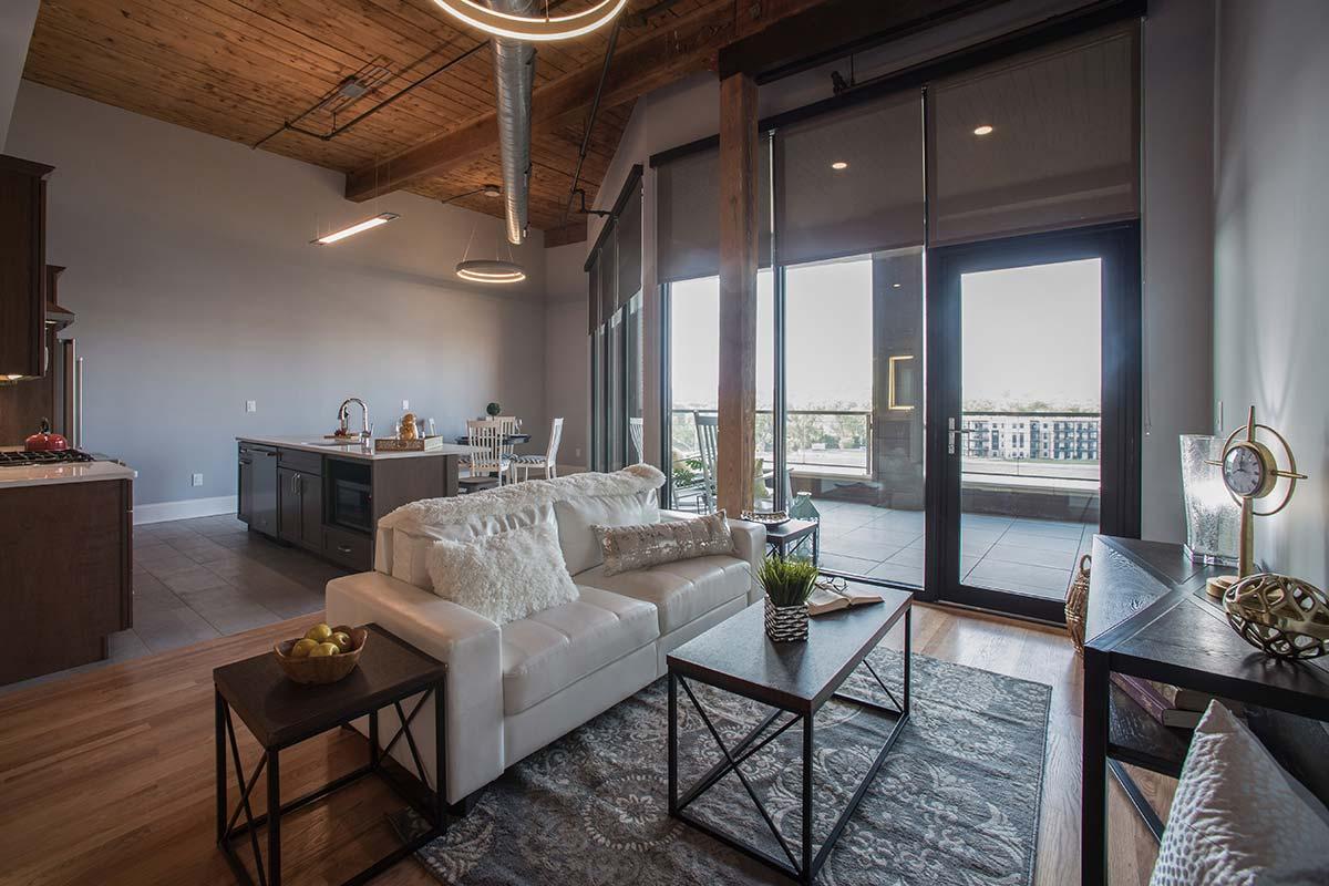 Apartment 501 Living room
