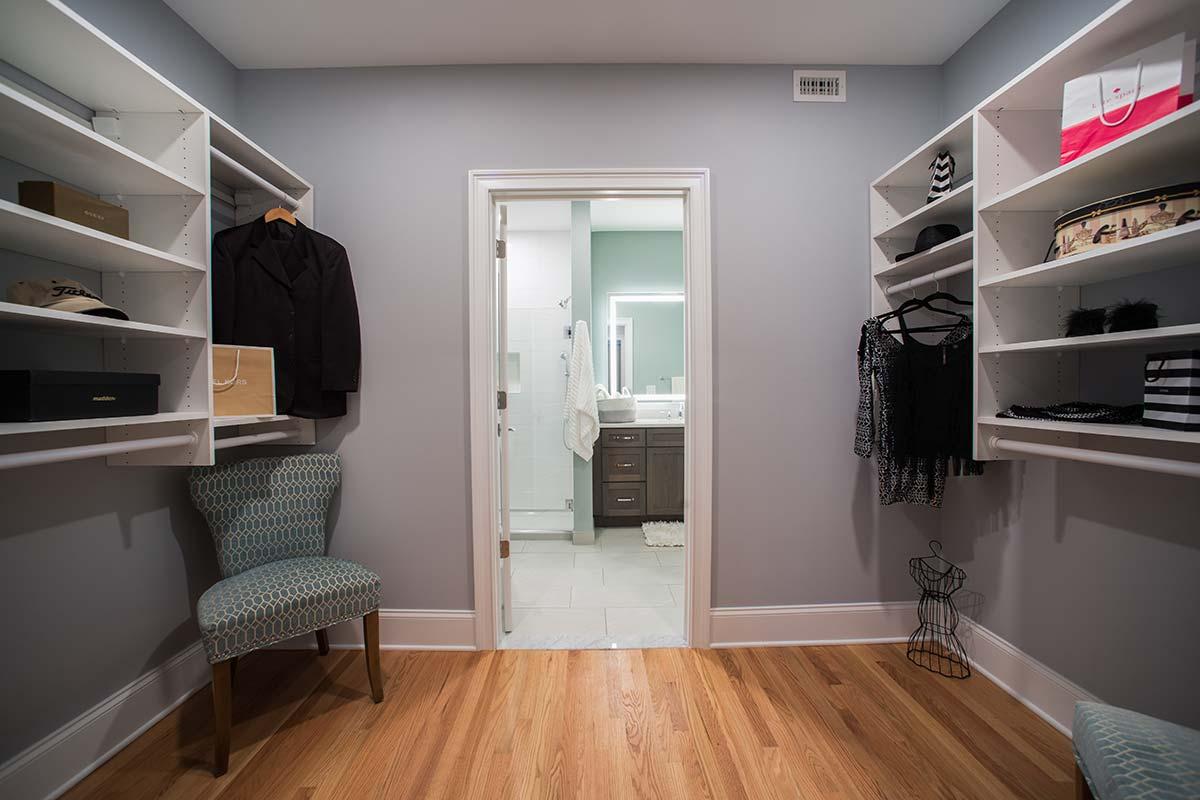 Apartment 501 Master closet